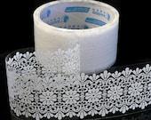White Lace Transparent Deco Tape Sticker Tape TD03