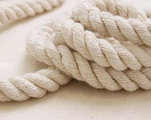 5 Yards Linen Cotton Rope Decorative Rope Cotton Cord 15mm Wide