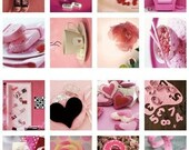 40 Kinds Korea DIY Picture Stickers Seal Stickers--Pink