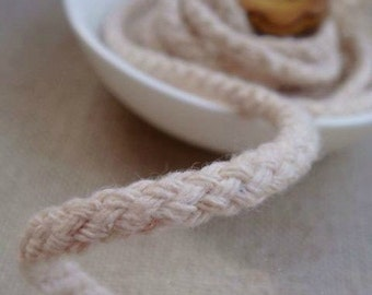 6 Yards Cotton Thread Cotton Spunyarn Rope- Linen Cotton Rope Piping Cord 4.5mm Wide