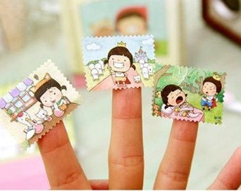 2 Sheets Korea Pretty Sticker Set - Deco Sticker Set