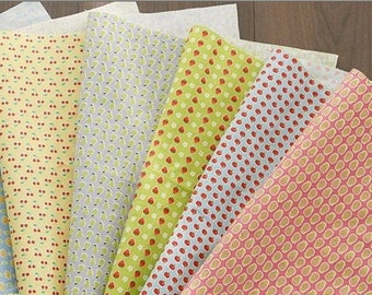 Cotton Linen Fabric Cloth -DIY Cloth Art Manual Cloth -Enjoy The Fruit Every Day 55x35 Inches
