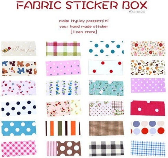 12 Sheets Korea Pretty Sticker Set Rural wind only beautiful multi-function adornment Masking LaceTape