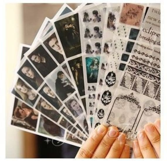 10 Sheets Limited edition restoring ancient ways the twilight sticker