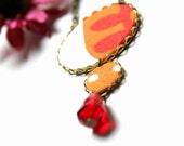 Orange necklace - donated by vadjutka