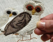 Owl brooch - donated by BlueTerracotta