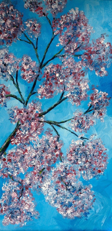Painting Blue Sky Blue Sky Oil Painting 30 x