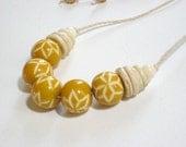 Honey Mustard Necklace