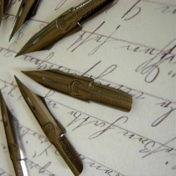 Vintage Pen Nibs Twelve Esterbrook 048 Falcon