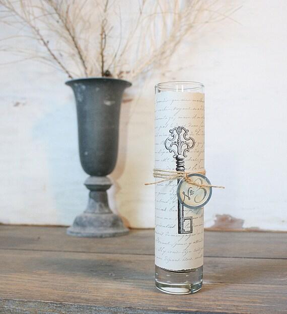 French Inspired Bud Vase