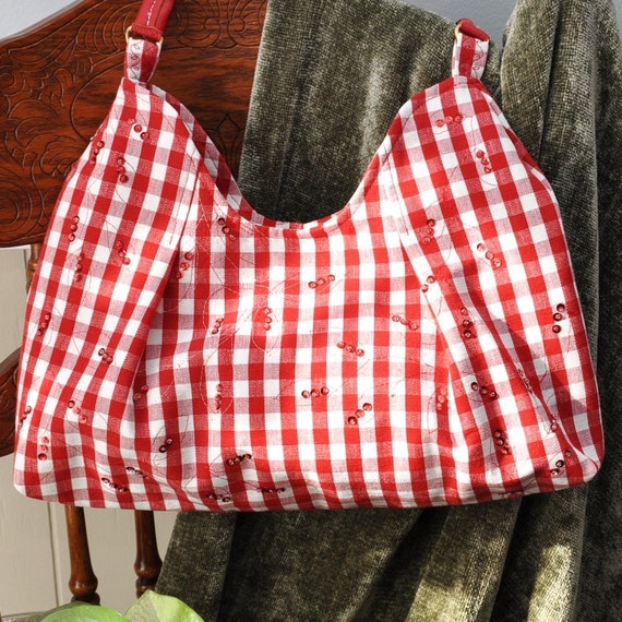 Purse - Sequins and Checks Purse