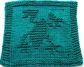 Knitting Cloth Pattern - FROG - PDF