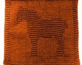 Large Knitting Cloth Pattern - WORK HORSE - PDF