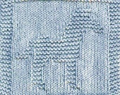 Knitting Cloth Pattern - ZEBRA - PDF