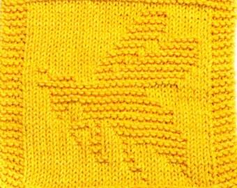 Knitting Cloth Pattern - BUBBLE BEE - PDF