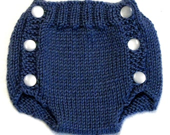 Diaper Cover Knitting Pattern - PDF - Small - Instant Download