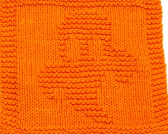 Knitting Cloth Pattern -  GHOST - PDF - Instant Download