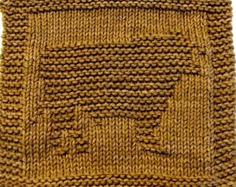 Knitting Cloth Pattern   -  BULL -  PDF