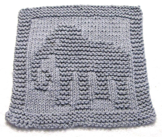 Knitting Cloth Pattern ELEPHANT PDF