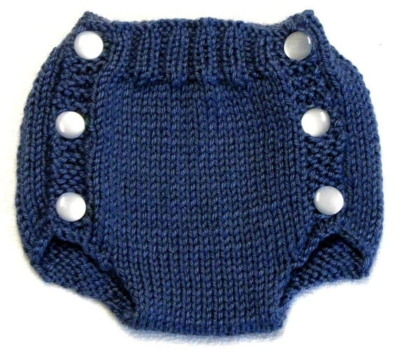 Diaper Cover Knit Pattern