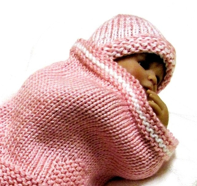 Baby Cocoon Knit Pattern : RUBBER DUCK Baby Cocoon Knitting Pattern with by ezcareknits