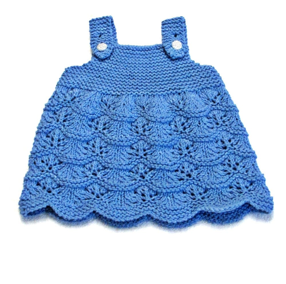 Knitting Patterns For Babies Jumpers : Baby Scalloped Jumper Knitting Pattern 0 to 3 Months PDF