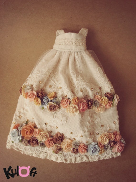 Special Flowers long dress A9