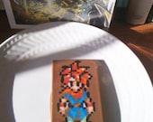 Crono - Chrono Trigger - Hand Painted Chocolate Bar