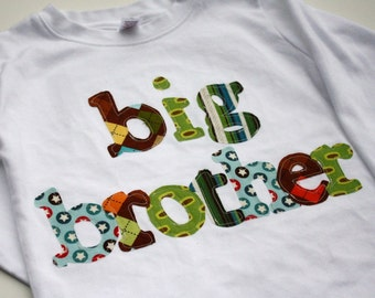 Big Brother Shirt, Big Bro Shirt, Sibling Shirts, Big Little Shirts, Brother T-Shirts,