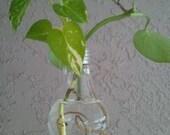 Recycled Light Bulb Vase