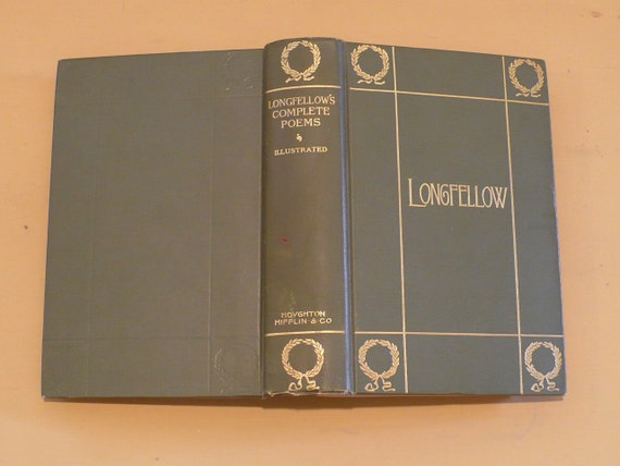 Complete Poetical  Works of Longfellow , 270 Illustrations C.R. 1902