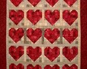 A Bundle of Hearts Quilt