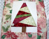Christmas Tree Wall Quilt  -  Great Gift