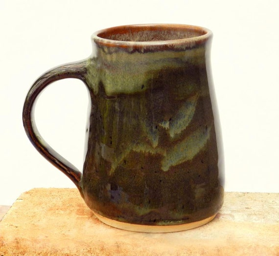 Berkshires Woodland Mug, 26 oz.,stoneware, microwave safe