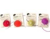 NEW  4 X MINI meriMICE  fair trade wool cat toy