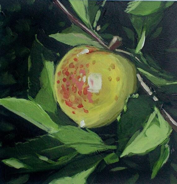Apple Autumn Acrylic Original Painting