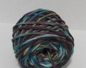 Hand Dyed T shirt Yarn - 57 yards - 7 WPI - Bulky