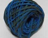 Hand Dyed T shirt Yarn - 52 yards - 6 WPI - Bulky