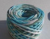Hand Dyed T-shirt Yarn 52 yards - 7 WPI - Bulky