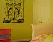 Brooklyn Bridge Room Decor Wall Decal