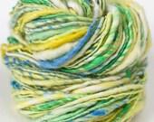 Reserved listing for Bonniekatewolf Petite Marguerite - single ply handspun yarn