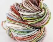 Hand spun merino yarn- Dancing Fauna