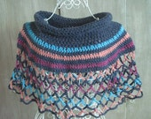 Rainbow Ponchette Skirt and Top all in one (color 1)