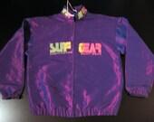 90's Vintage Surf Gear Windbreaker Jacket XL Men's or Women's