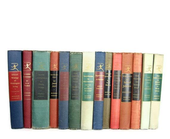 Vintage Decorative Books, Vintage Wedding Decor, Vintage  Photography Prop