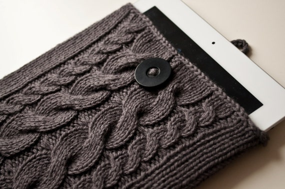 Cable Knit iPad / iPad Air / iPad Mini Case - Made To Order