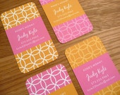 Mommy Cards - Chic Information Cards for exchanging with other moms - Set of 20