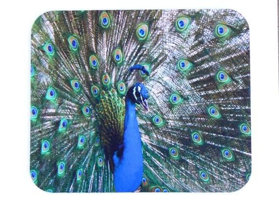 Mousepad Peacock