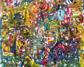 Oil on Canvas 18x18