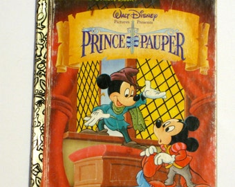 Little Golden Book - Prince and the Pauper